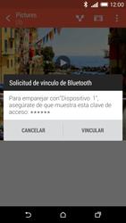 HTC One M8 - Bluetooth - Transferir archivos a través de Bluetooth - Paso 13