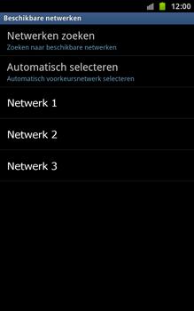 Samsung N7000 Galaxy Note - Buitenland - Bellen, sms en internet - Stap 9