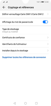 Huawei Mate 20 - Sécurité - modifier SIM PIN - Étape 6