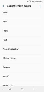 Samsung Galaxy A6 - MMS - configuration manuelle - Étape 11