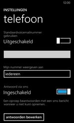 Nokia Lumia 635 - Voicemail - Handmatig instellen - Stap 8