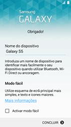 Samsung Galaxy S5 - Primeiros passos - Como ligar o telemóvel pela primeira vez -  14