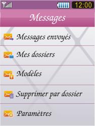 Samsung S7070 Diva - E-mail - Configuration manuelle - Étape 4