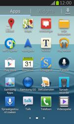 Samsung S7710 Galaxy Xcover 2 - Voicemail - handmatig instellen - Stap 4