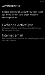 Nokia Lumia 625 - Email - Manual configuration - Step 10
