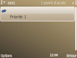 Nokia E72 - MMS - Configuration manuelle - Étape 12