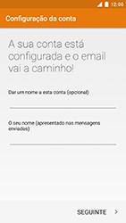 NOS Neva 80 - Email - Configurar a conta de Email -  22