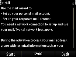 Nokia E6-00 - E-mail - Manual configuration - Step 5