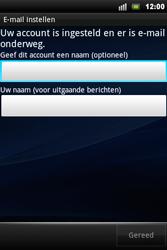 Sony Ericsson Xperia Mini Pro - E-mail - Handmatig instellen - Stap 11