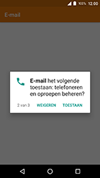 Crosscall Action X3 - E-mail - e-mail instellen (outlook) - Stap 5