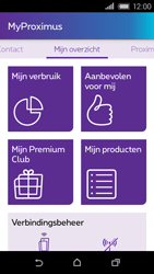HTC Desire 320 - Applicaties - MyProximus - Stap 13