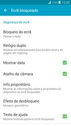 Samsung Galaxy Grand Prime - Segurança - Como ativar o código de bloqueio do ecrã -  5