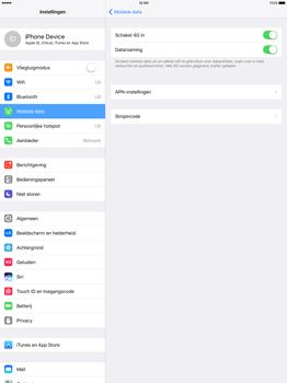 Apple iPad Pro 12.9 inch (Model A1671) - Beveiliging en ouderlijk toezicht - Hoe wijzig ik mijn SIM PIN-code - Stap 5