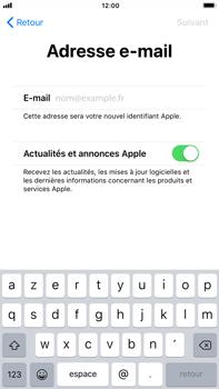 Apple iPhone 8 Plus - Premiers pas - Créer un compte - Étape 23
