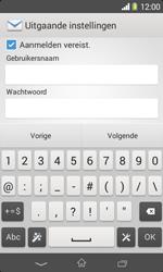 Sony Xperia E1 (D2005) - E-mail - Handmatig instellen - Stap 14
