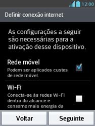 LG E430 Optimus L3 II - Primeiros passos - Como ativar seu aparelho - Etapa 5