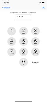Apple iPhone XR - Segurança - Como ativar o código PIN do cartão de telemóvel -  7