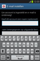 Samsung S6810P Galaxy Fame - E-mail - e-mail instellen: IMAP (aanbevolen) - Stap 20