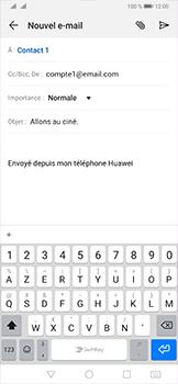 Huawei P30 Pro - E-mail - envoyer un e-mail - Étape 8