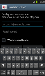 Samsung I8190 Galaxy S III Mini - E-mail - handmatig instellen (outlook) - Stap 5