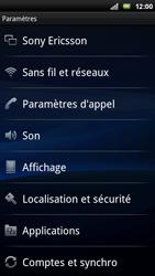 Sony Ericsson Xperia Arc - Wifi - configuration manuelle - Étape 3