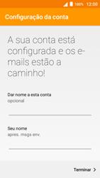 Alcatel Pop 3 - Email - Configurar a conta de Email -  24