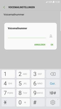 Samsung Galaxy S6 Edge+ - Android Nougat - Voicemail - handmatig instellen - Stap 9