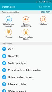 Samsung G928F Galaxy S6 edge+ - Wifi - configuration manuelle - Étape 3