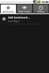 Samsung I5700 Galaxy Spica - Internet - Internet browsing - Step 8