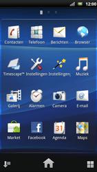 Sony Ericsson Xperia Neo - MMS - afbeeldingen verzenden - Stap 2