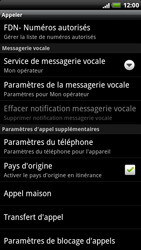 HTC X515m EVO 3D - Messagerie vocale - configuration manuelle - Étape 6