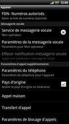 HTC X515m EVO 3D - Messagerie vocale - Configuration manuelle - Étape 5