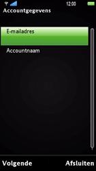 Sony Ericsson U1i Satio - E-mail - Handmatig instellen - Stap 9