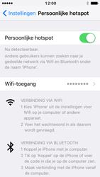 Apple iPhone 5 met iOS 10 (Model A1429) - WiFi - Mobiele hotspot instellen - Stap 8