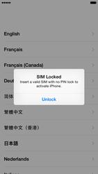Apple iPhone iOS 8 - Primeiros passos - Como ativar seu aparelho - Etapa 5