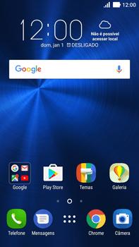 Asus Zenfone 3 - Funções básicas - Explicação dos ícones - Etapa 1