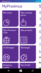 Microsoft Lumia 535 - Applications - MyProximus - Étape 13