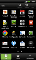HTC C525u One SV - E-mail - Configurer l