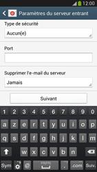 Samsung Galaxy S4 - E-mails - Ajouter ou modifier un compte e-mail - Étape 10