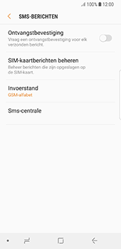 Samsung galaxy-s8-g950-android-oreo - SMS - SMS-centrale instellen - Stap 10
