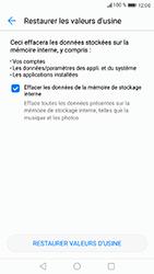 Huawei P8 Lite 2017 - Device maintenance - Retour aux réglages usine - Étape 7