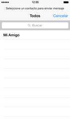Apple iPhone 5s - Mensajería - Escribir y enviar un mensaje multimedia - Paso 5