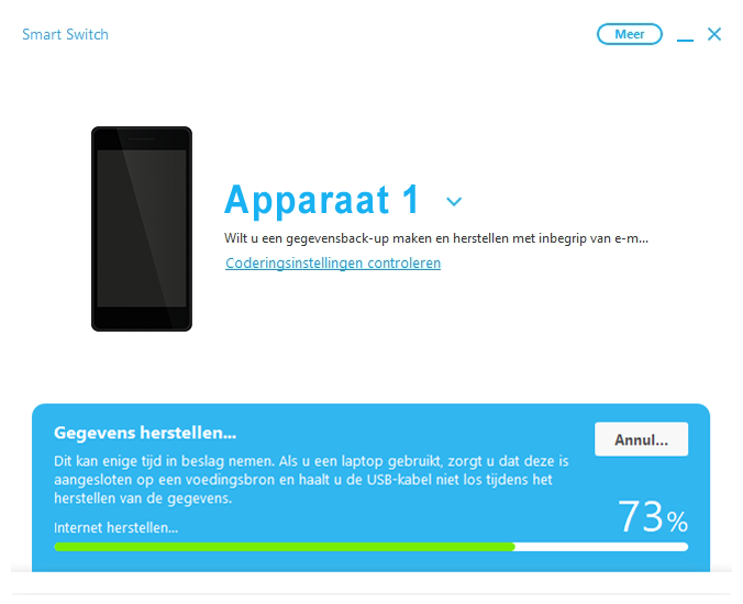 Samsung A300FU Galaxy A3 - Software - Back-up maken of terugplaatsen - Stap 17