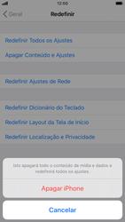 Apple iPhone 8 - iOS 13 - Funções básicas - Como restaurar as configurações originais do seu aparelho - Etapa 6