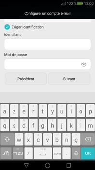 Huawei Mate S - E-mail - Configuration manuelle - Étape 17