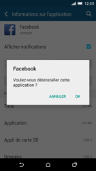 HTC One M9 - Applications - Supprimer une application - Étape 7