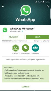Samsung Galaxy S6 Edge + - Aplicações - Como configurar o WhatsApp -  6