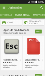 Samsung Galaxy Trend 2 Lite - Aplicações - Como pesquisar e instalar aplicações -  5