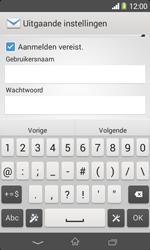 Sony D2005 Xperia E1 - E-mail - Account instellen (IMAP zonder SMTP-verificatie) - Stap 13