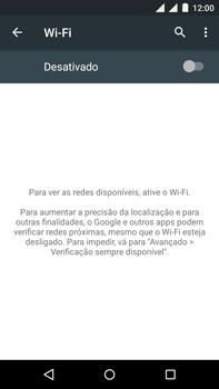 Motorola Moto X Play - Wi-Fi - Como configurar uma rede wi fi - Etapa 5